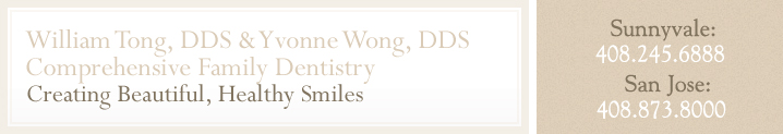 William Tong, DDS & Yvonne Wong, DDS